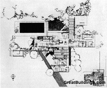 Kaufmann House / Richard Neutra