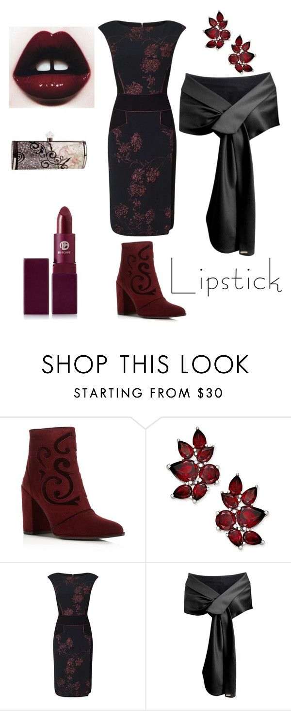 """""""Untitled #138"""" by amory-eyre ❤ liked on Polyvore featuring beauty, Stuart Weitzman, Phase Eight and Lipstick Queen"""