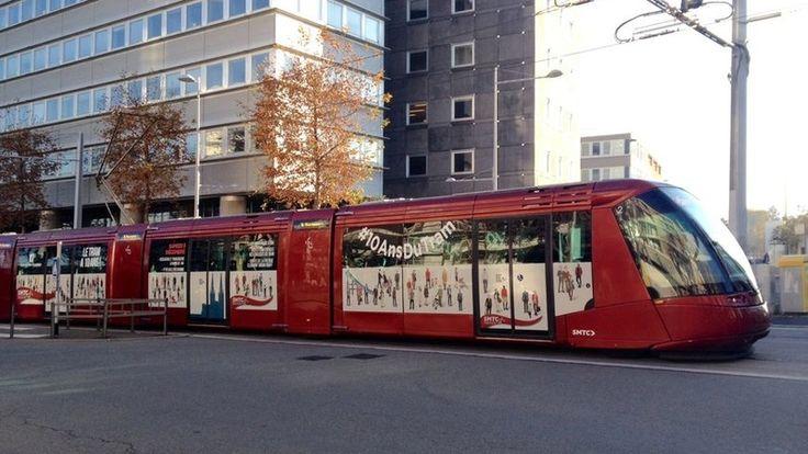Clermont-Ferrand - Transports en commun - Tramway sur pneus Translohr (France)