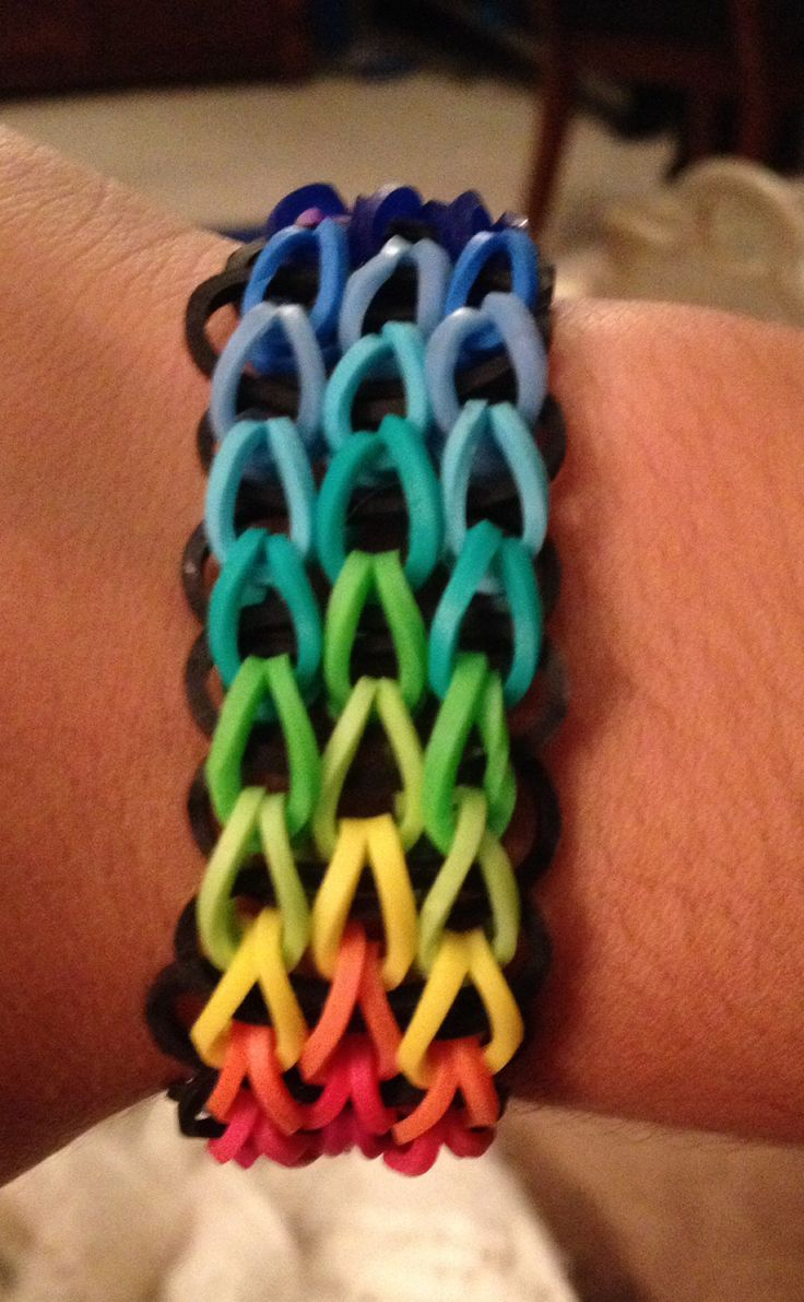 rainbow youtube how seller is triple singles watch multicolor loom bracelet this my single to make best a