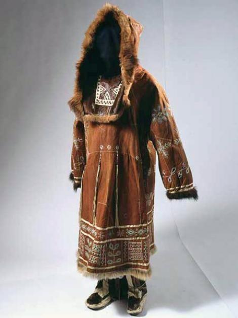 Костюм женский праздничный. Коряки. Корякский автономный округ. 1970—1980-е годы