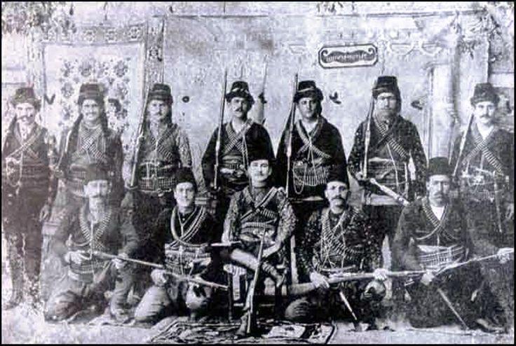 Ankara ve Yğzgat cıvarında faaliyet gösteren Ermeni Çete