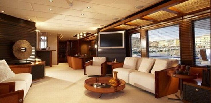 Interior:Luxurious Fascinating Luxury Interior Design For Yachts And Large Boats Concept Design Plan Wood Furniture Fashion Pictures Hardwoo...