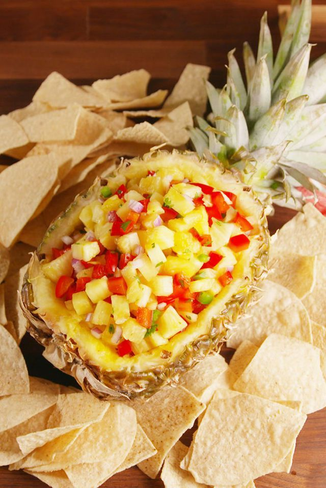 Pineapple Salsa Vertical