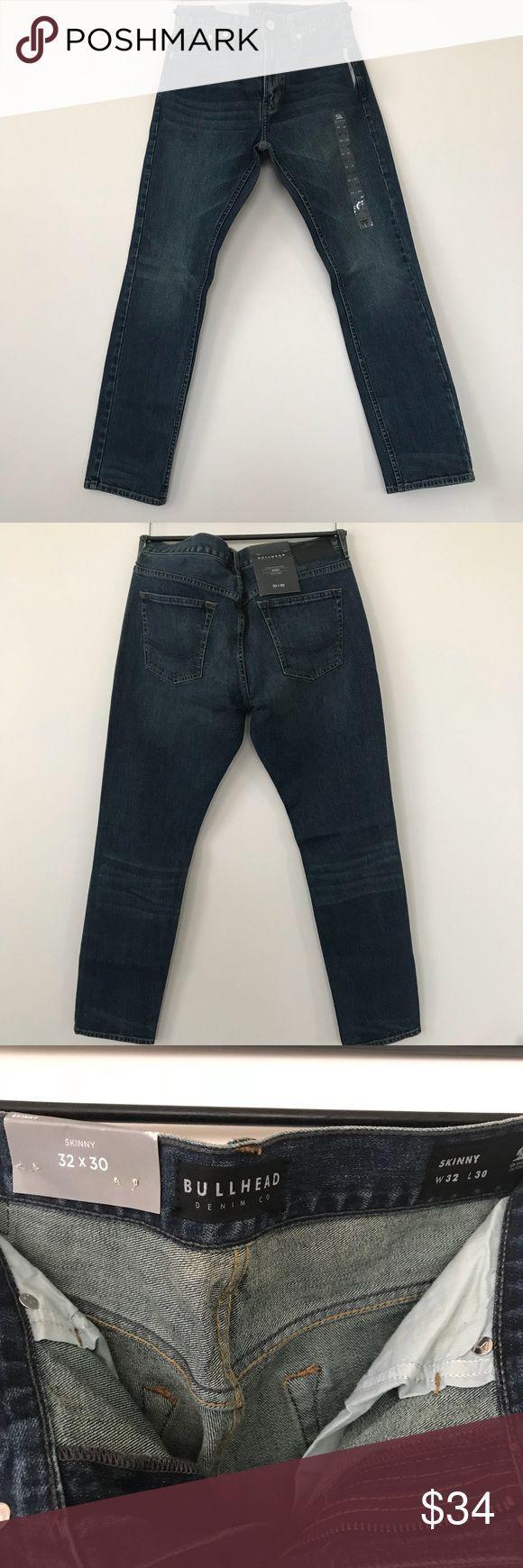 Nwt Pacsun Men's Skinny Jeans-32Wx30L by Bullhead Nwt Pacsun Men's Skinny Denim -32Wx30L by Bullhead Denim Co,Midnight Indigo,99% Cotton,1% Spandex PacSun Jeans Skinny