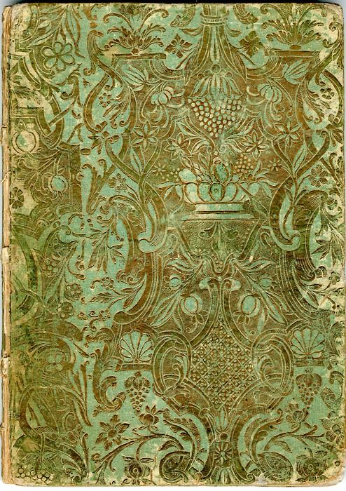 The Copiale Cipher is a 105 pages manuscript containing all in all around 75 000 characters. Beautifully bound in green and gold brocade paper, written on high quality paper with two different watermarks, the manuscript can be dated back to 1760-1780.