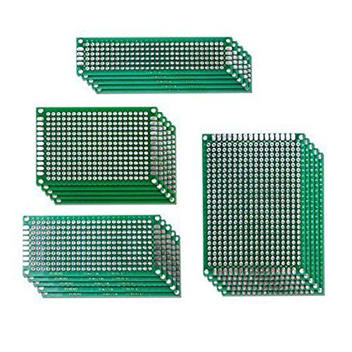 From 8.59 Rosenice Circuit Board Pcb Board Double Side Prototype Pcb Universal Printed Circuit Board 20 Pack