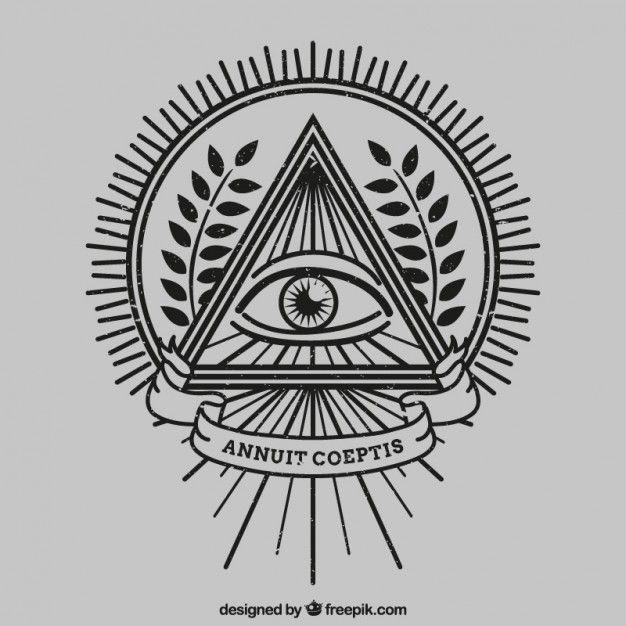 Ojo dentro de un triangulo