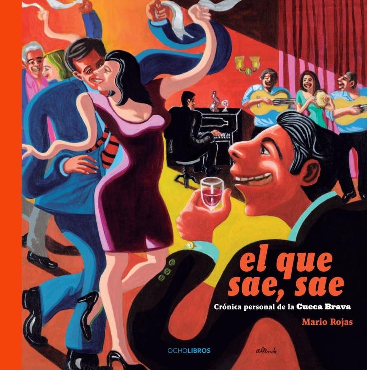 """Foto Portada libro """"El que Sae, Sae"""" de Mario Rojas."""