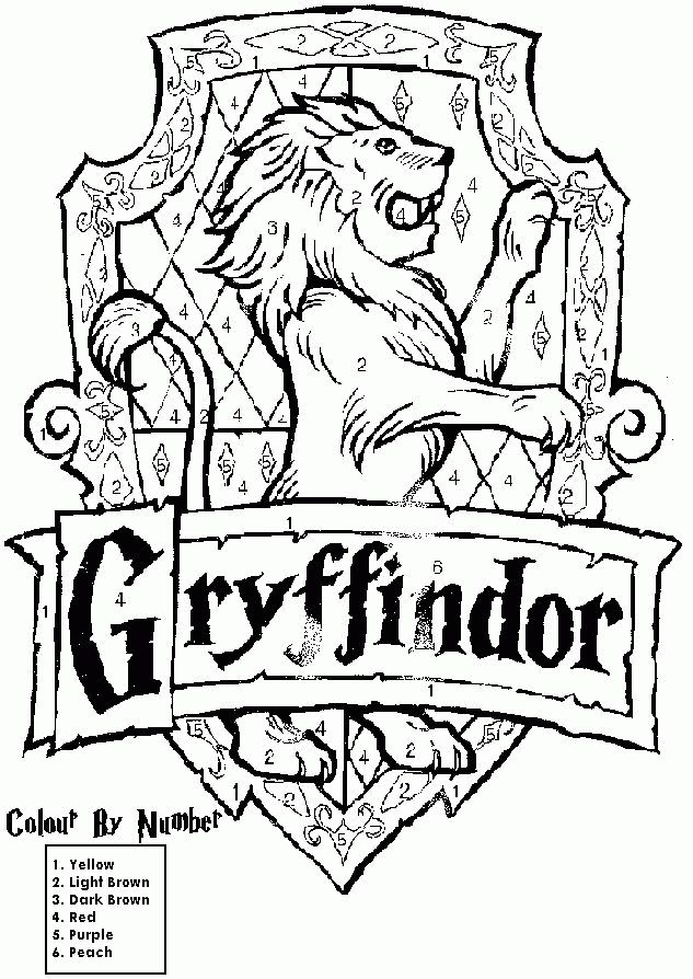 House Crest Coloring Pages Family Reading Night