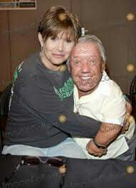 Carrie Fisher, Kenny Baker