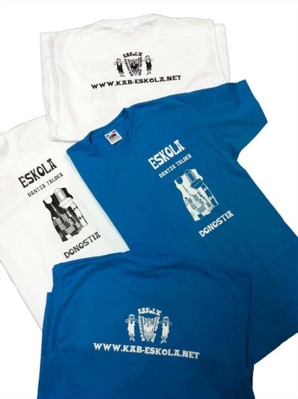 Camisetas para Eskola Dantza Taldea #Folklore