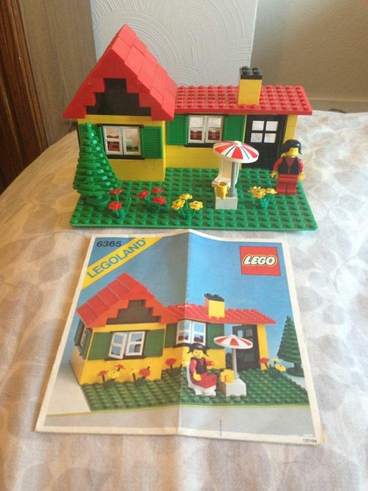 Legohuisje uit de jaren '80! Ik heb deze zelfs nog boven in de orginele doos!