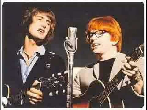 That first hit for British duo Chad & Jeremy from 1964 here's 'Yesterday's Gone' (sorry that the photo here has Peter & Gordon - it's really a Chad & Jeremy song)