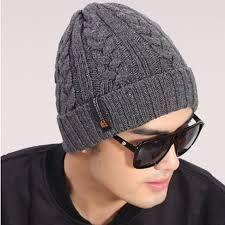 Resultado de imagen para gorros de lana para hombres