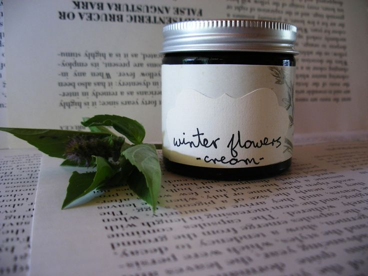 Handmade vegan skincare, made in Australia. -Winter Flowers- rich moisturising cream, 60ml $45.00.  A gorgeous creamy moisturiser, rich and silky. Soothing and sensual, this cream provides maximum moisture and coolness for hot dry skin and restless minds; it contains cucumber and spirulina to promote skin repair, and black willow to gently cleanse.  The fragrance is subtle and soft, combining cypress pine with