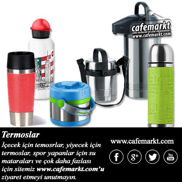 İçecek termosları, yiyecek termosları, su mataraları ve çok daha fazlası için sitemizi ziyaret edin. http://www.cafemarkt.com/termoslar #Cafemarkt #Termos #YemekTermosu #Matara #SuMatarası #MiniTermos #Mug
