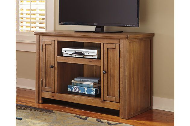 "Macibery 42"" TV Stand by Ashley HomeStore, Light Brown"
