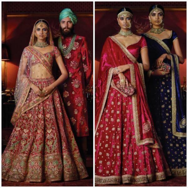 Fashion Report : Sabyasachi's regal wedding collection 'Firdaus'   PINKVILLA