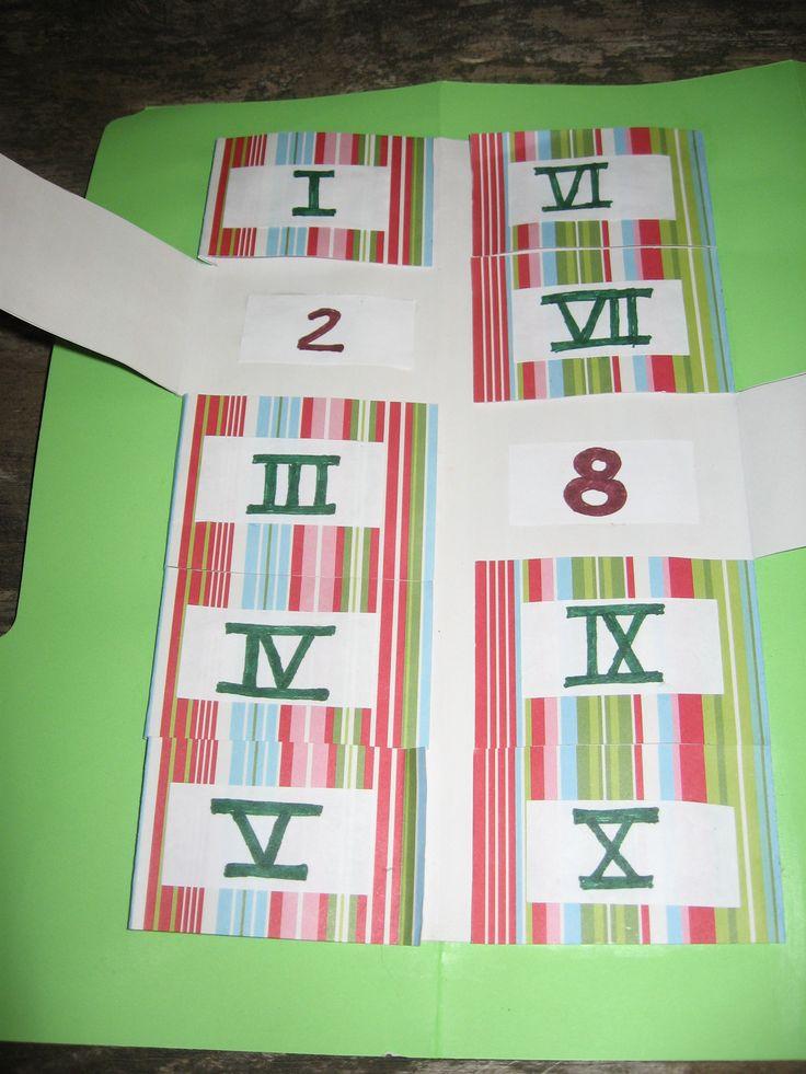 Angelo: Roman numerals