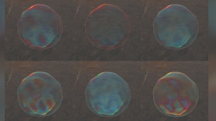 Tutorial No.55 : Creating All Kinds of Bubbles using Thin Film Shader in...