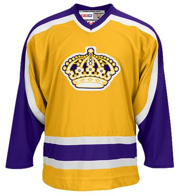quality design 86296 84d07 la kings jersey history