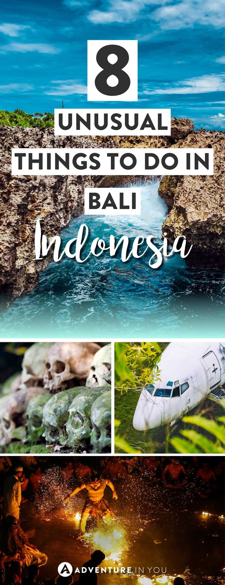 Bali Indonesia | Heading to Bali? Go off the beaten path by adding these unusual things to do in Bali to your trip itinerary. From mesmerising fire shows to underwater temples, these things to do to bali article is the perfect guide to planning your trip to Bali Indonesia #bali