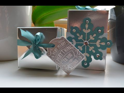 12 Weken kerstcadeaus chique gift box punch board - YouTube