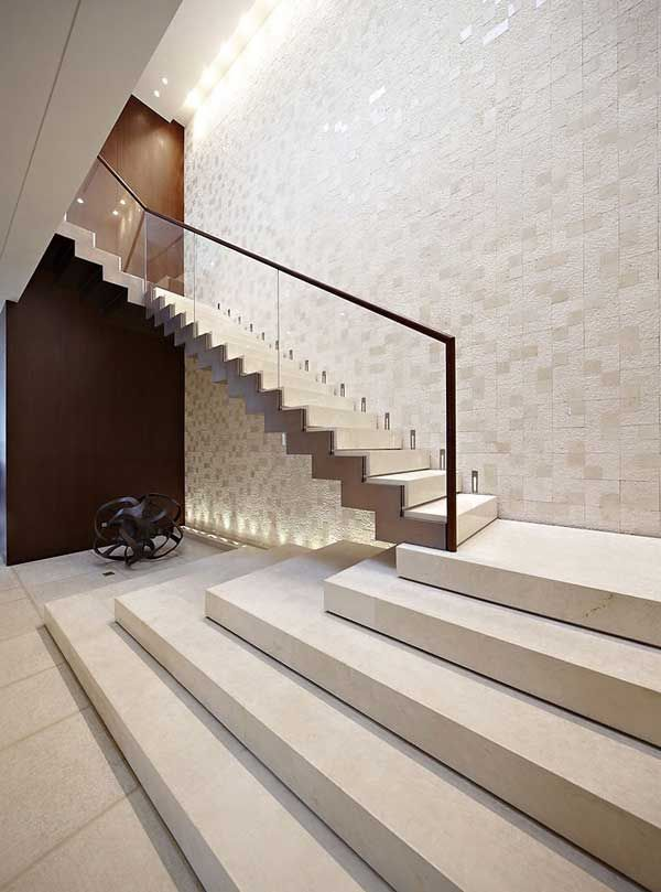 luxurious and splendid elegant stairs design. magnificent staircase design and splendid wall finish  62 best staircases images on Pinterest Home ideas Stairs