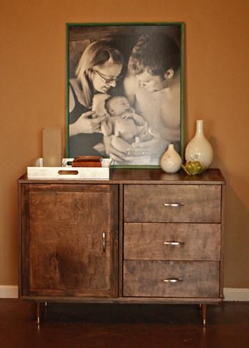 How To Build A Mid Century Modern Console. Http://ana White