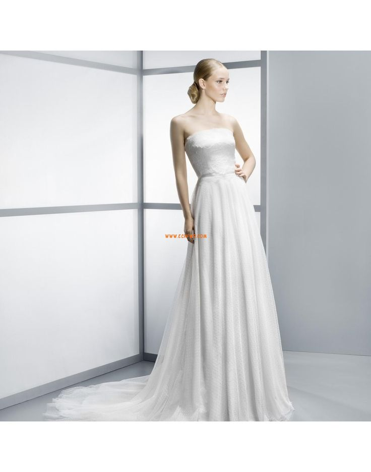 Elégant & Luxueux Dentelle Zip Robes de mariée pas cher