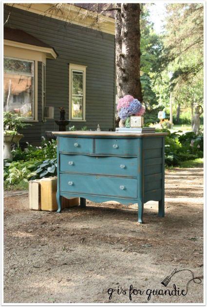 Mejores 72 imágenes de Painted Pieces en Pinterest | Armarios, Casas ...