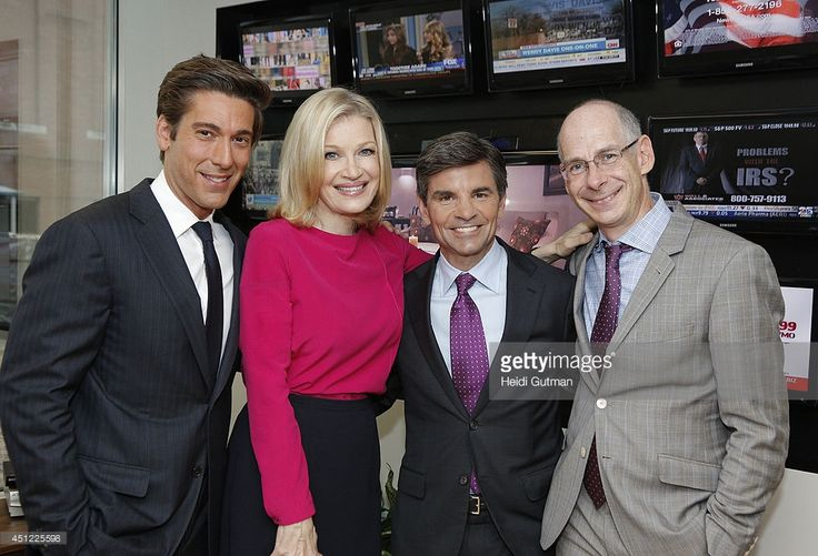 News today, June 25, 2014, announced new roles for anchors Diane Sawyer, George Stephanopoulos and David Muir. Sawyer will lead new programming tackling big issues and extraordinary interviews. Stephanopoulos, Anchor of Good Morning America and This Week, has been promoted to Chief Anchor of ABC News, handling special reports and breaking news. Muir, Anchor of 20/20, will become Anchor and Managing Editor of World News starting September 2. (Photo by Heidi Gutman/ABC via Getty Images)DAVID