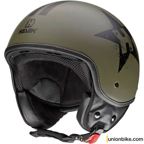 Casco Hevik HHV9 Star in Demi Jet - Open Face - Caschi