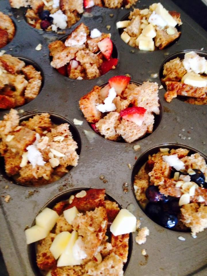 21 Day Fix Mini French Toast Casserole Cups - Prep ahead for the week!