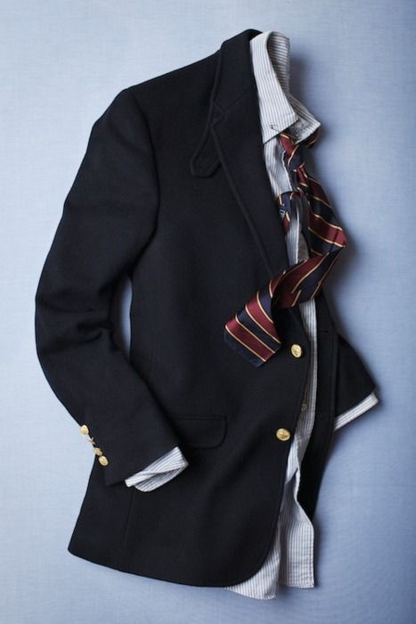 The blazer is an essential piece of any gents' wardrobe