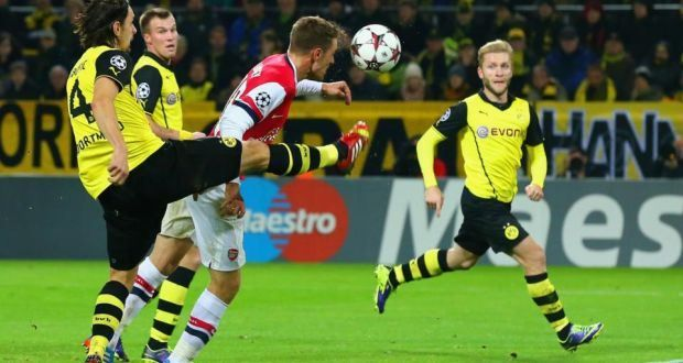 UEFA Champions League: Resolute Arsenal Grind Out Victory At Dortmund - The Inscriber : Digital Magazine - The Inscriber : Digital Magazine