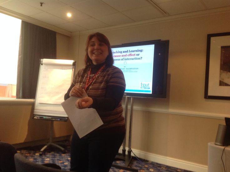 IAREFL, Harrogate 2014, M. Sachpazian presenting