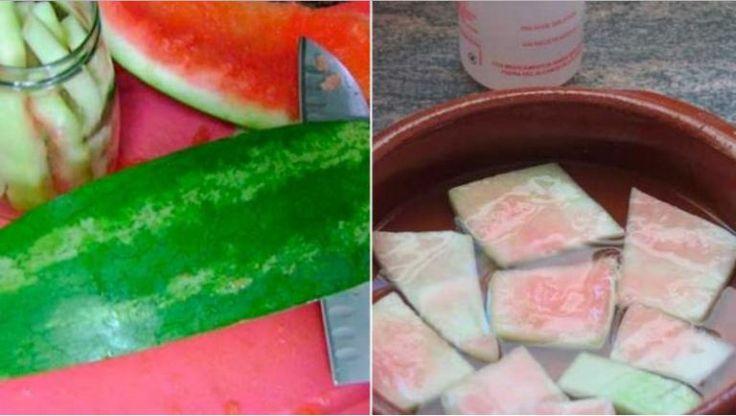 Už nikdy nebudete vyhazovat melounové slupky