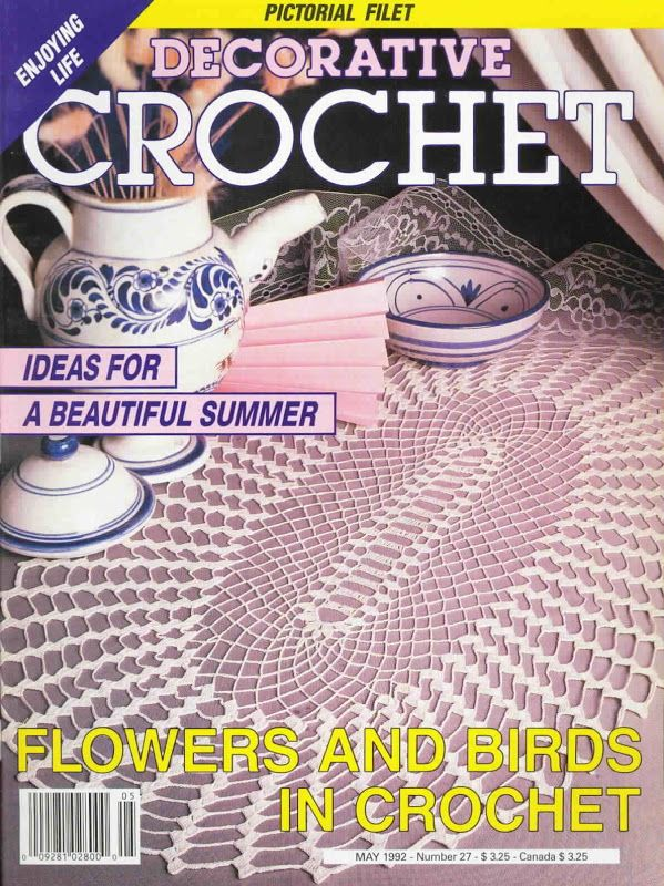 Decorative Crochet Magazines 19 - Gitte Andersen - Álbuns da web do Picasa