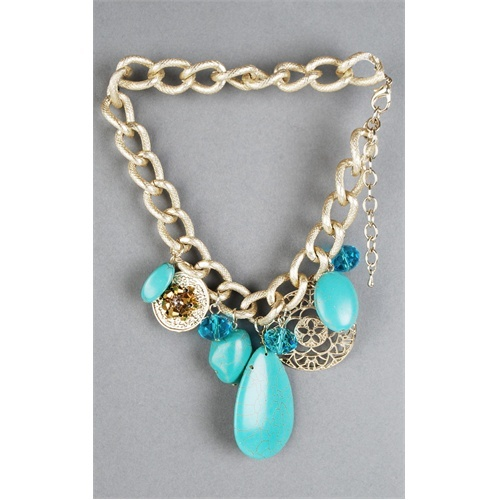 more teal....please.Turquoise, Shorts, Chains Necklaces, Stones