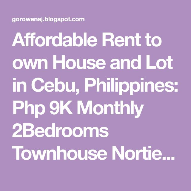 Best Affordable Rent To Own Housing Images On   Homes