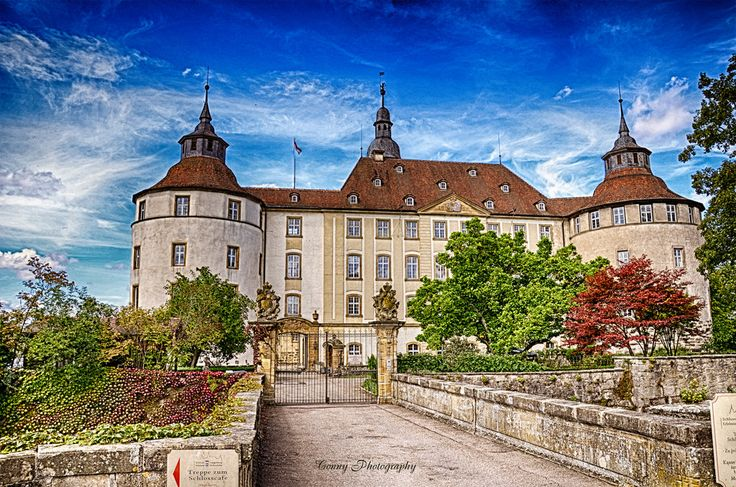 Schloss Langenburg HDR by ConnysWORLD on deviantART