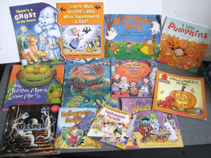 12 Kids Halloween Spooky Scary Casper Howl Night Before Monster Hunt Ghost Witch