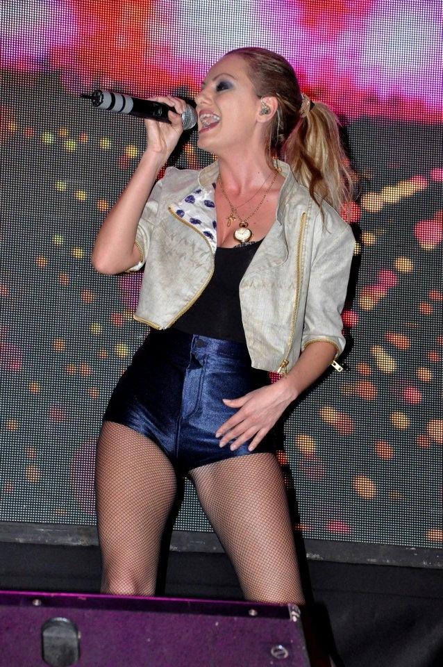 Alexandra Stan performed at Hard Rock Cafe Mumbai - December 16th, 2011