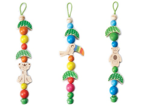 Jungle Land Charms  from cocooncouture.com