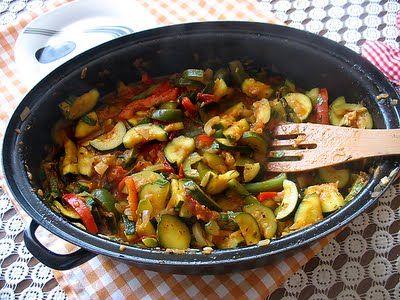 http://zbieramliscie.blogspot.com/2011/07/francuska-ratatouille.html #ratatouille #zbieramliscie #warzywka #vege