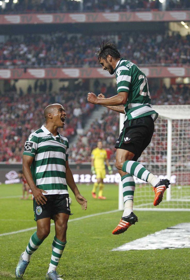 As imagens do Benfica-Sporting - JN
