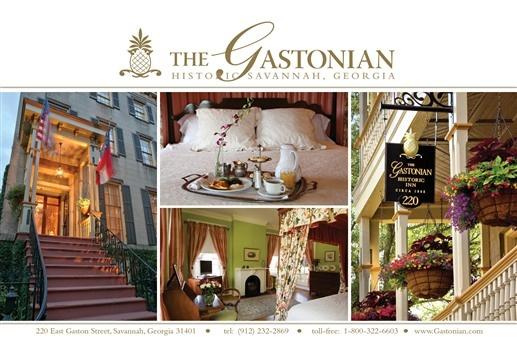 The Gastonian - Savannah, Georgia. Savannah Bed and Breakfast Inns