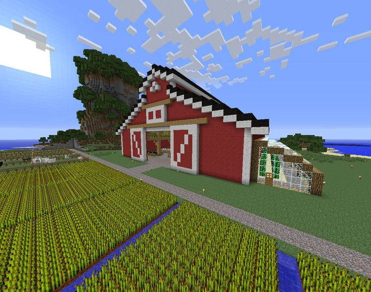 Minecraft Barn  With Images